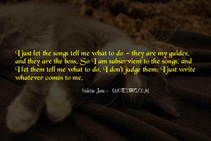 Don't Judge Me By My Past Quotes #29122