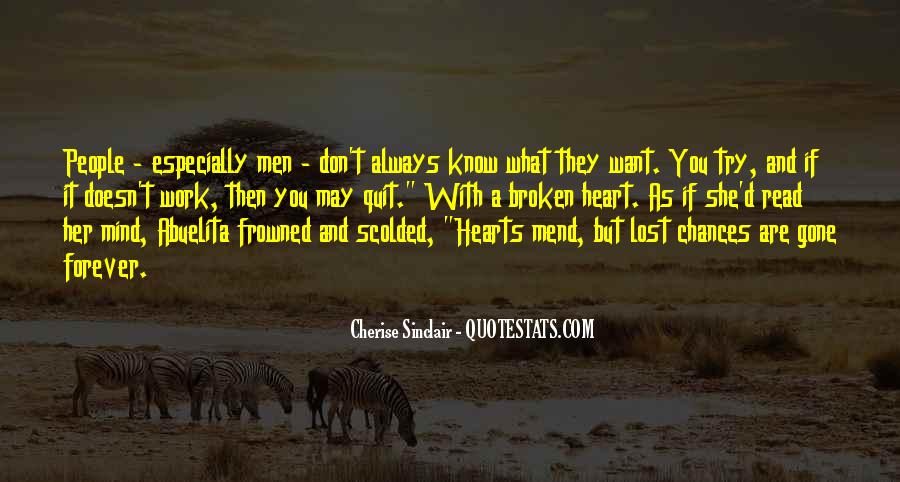 Don't Know What You Lost Quotes #947315