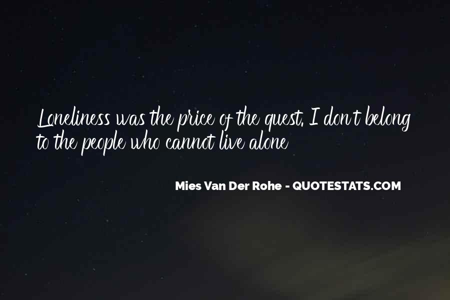 Don't Let Loneliness Quotes #253870