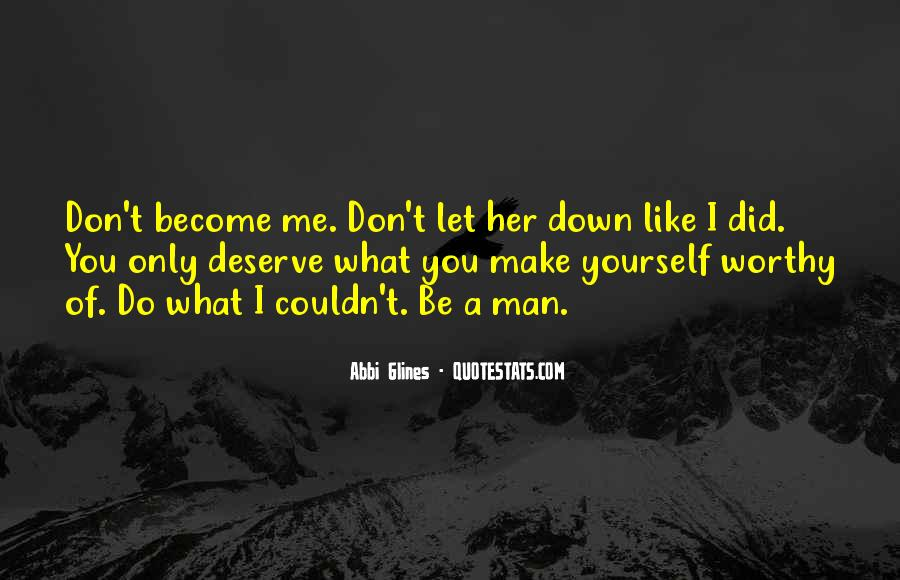 Don't Let Me Down Quotes #1009250