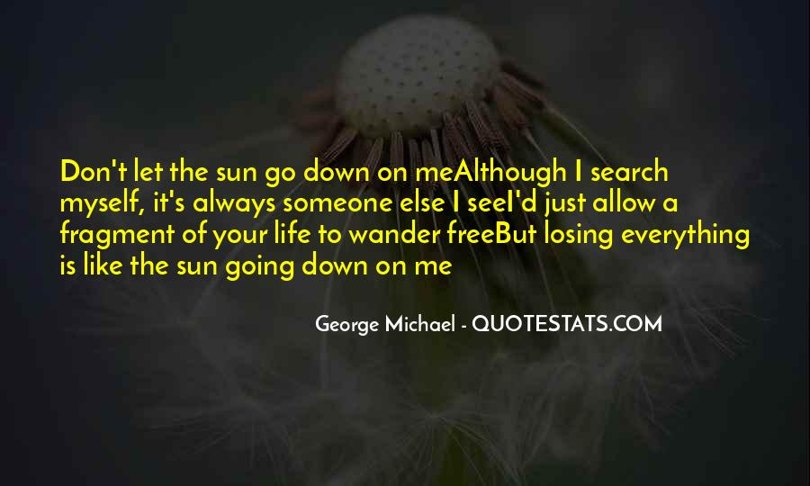 Don't Let Me Down Quotes #1017788