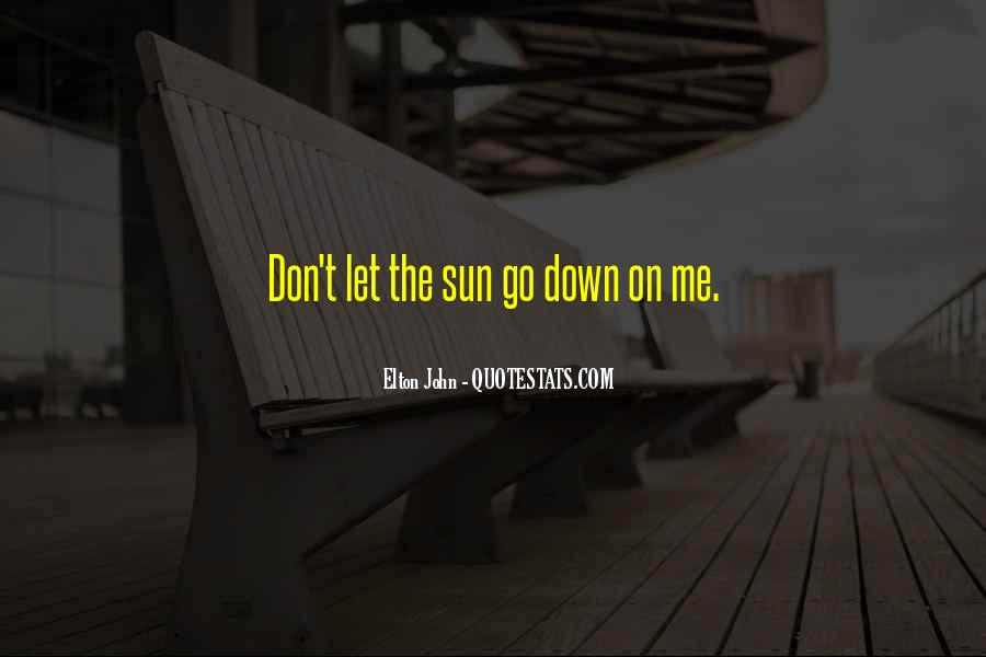Don't Let Me Down Quotes #1616818
