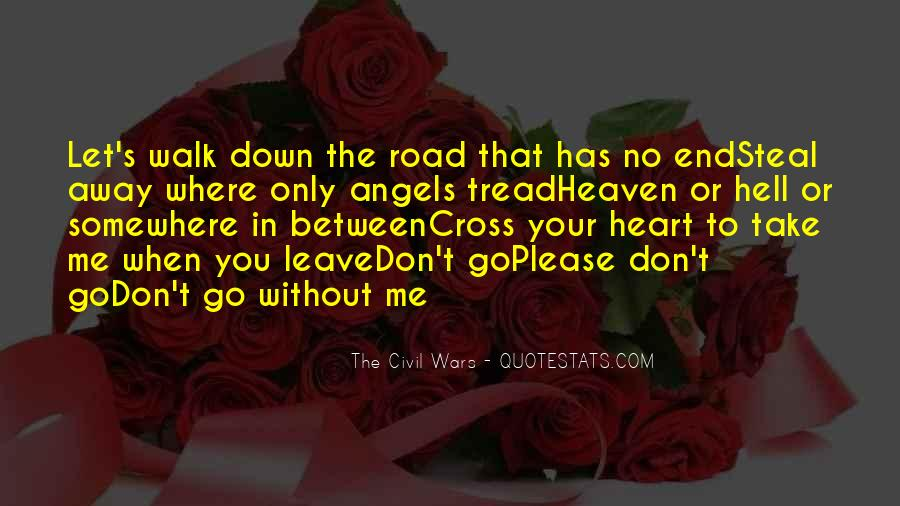 Don't Let Me Down Quotes #1704388