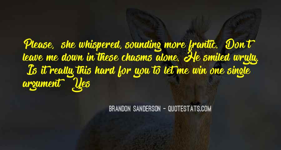 Don't Let Me Down Quotes #182314