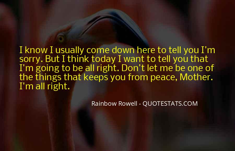 Don't Let Me Down Quotes #817188