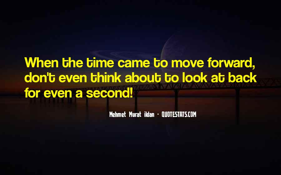 Don't Look Back Famous Quotes #409704