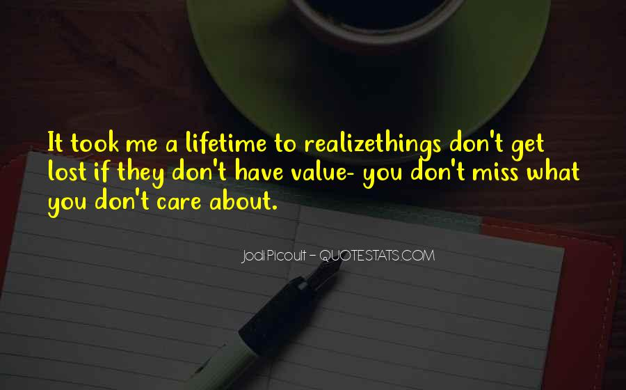 Don't Miss Quotes #148295