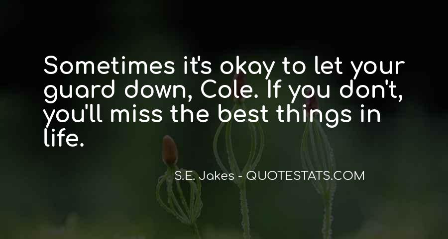 Don't Miss Quotes #177916