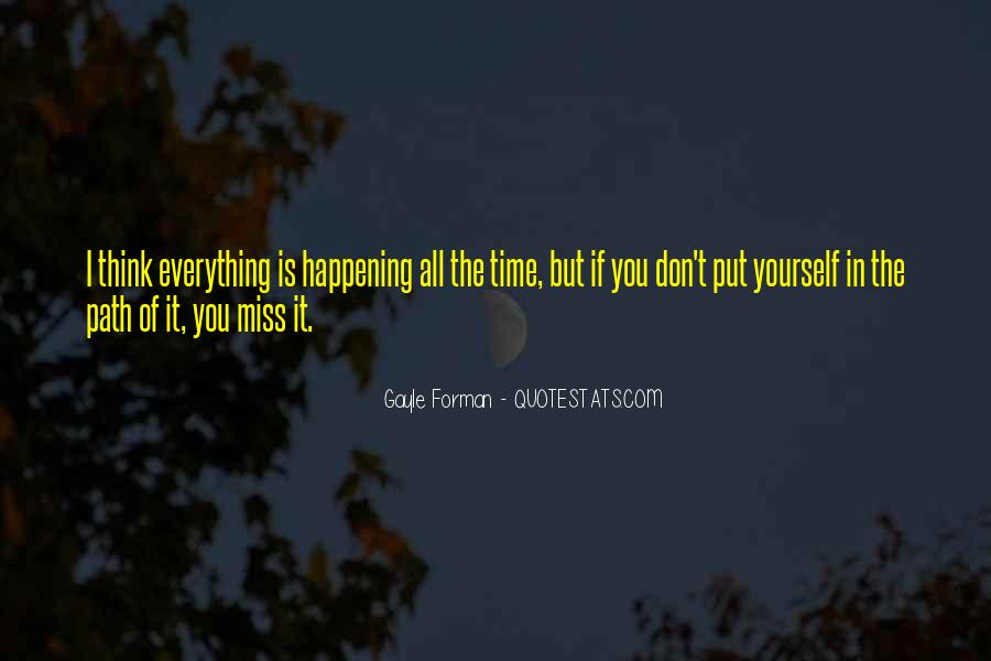 Don't Miss Quotes #48685