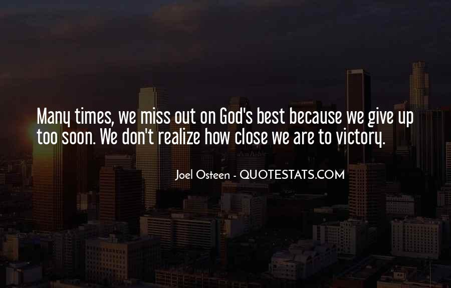 Don't Miss Quotes #66052