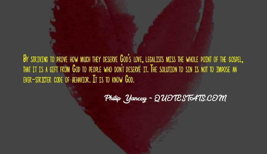 Don't Prove Your Love Quotes #198057