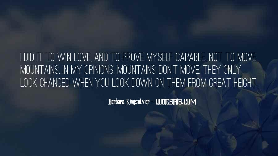 Don't Prove Your Love Quotes #281824