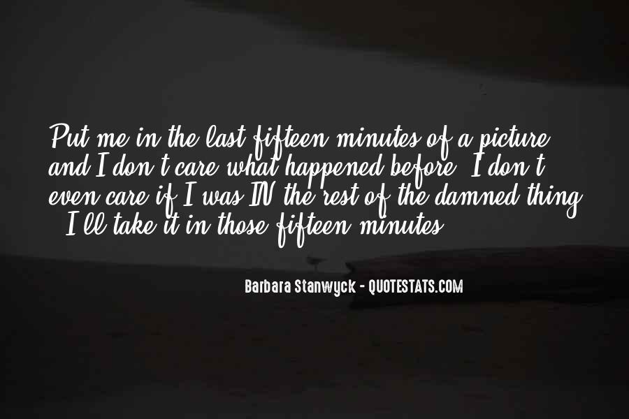 Don't Put Me Last Quotes #1667422