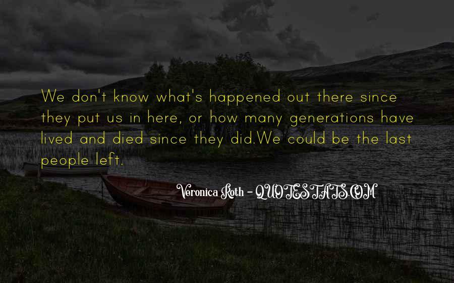 Don't Put Me Last Quotes #915855