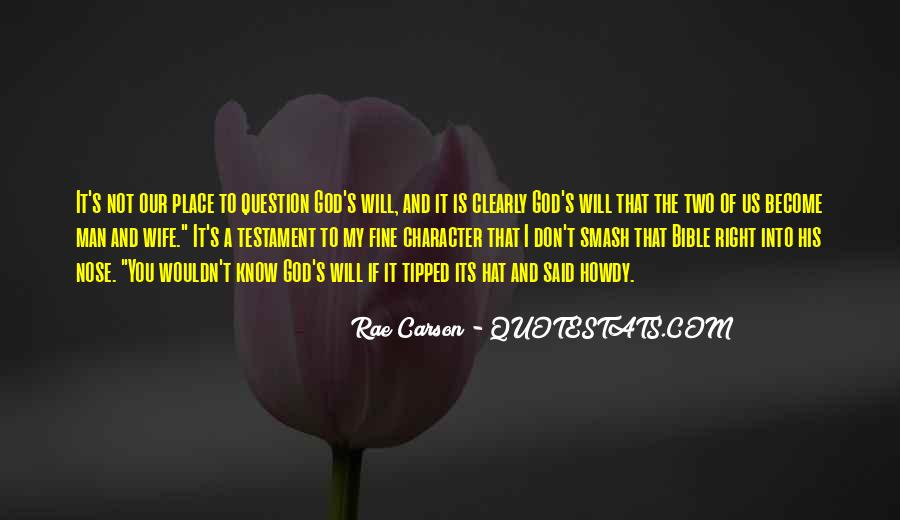 Top 30 Don't Question God Quotes: Famous Quotes & Sayings