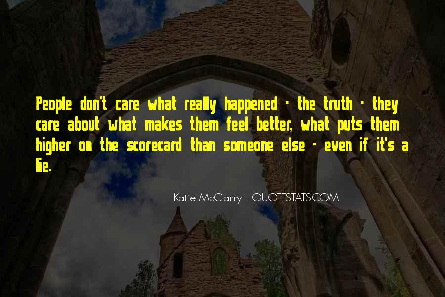Don't Really Care Quotes #107620