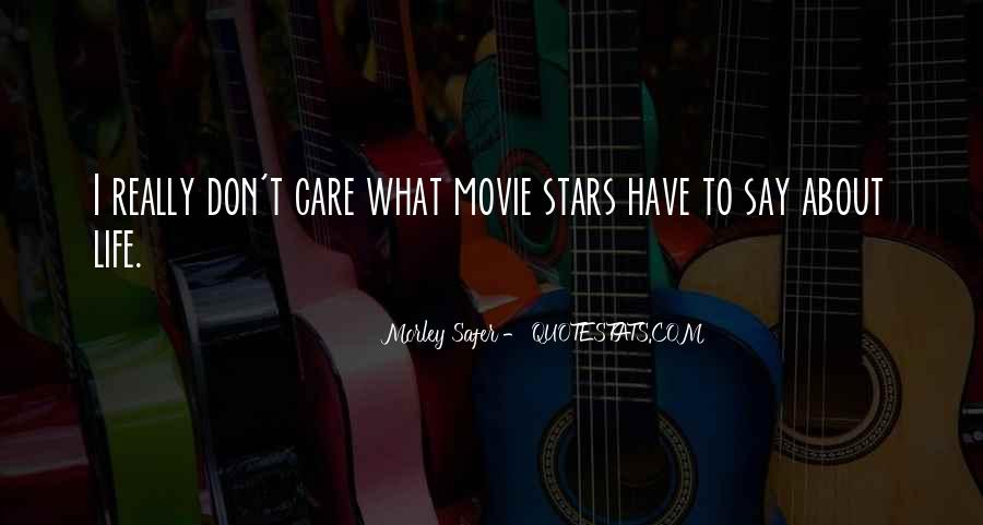 Don't Really Care Quotes #250693