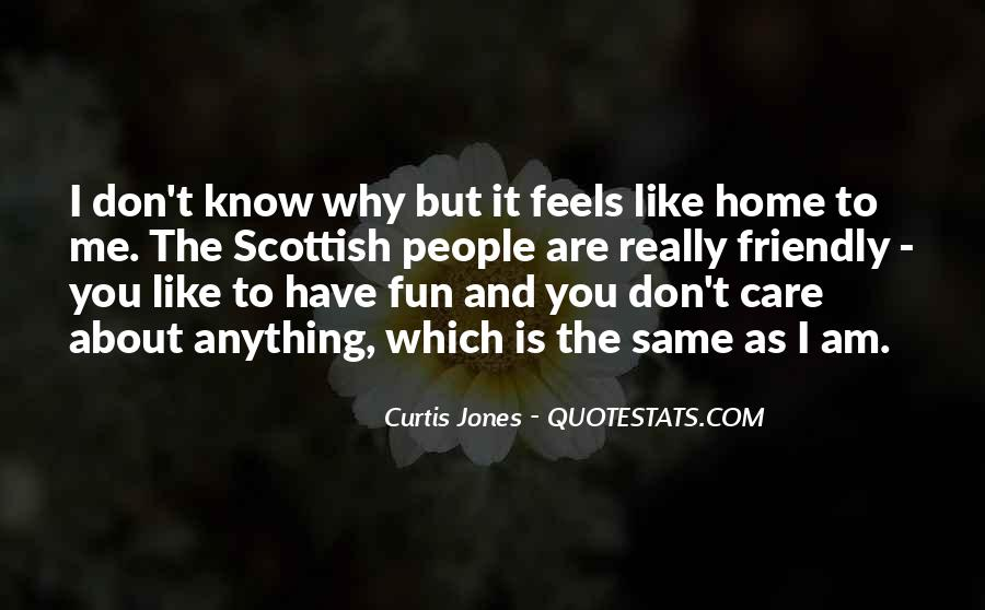Don't Really Care Quotes #281527