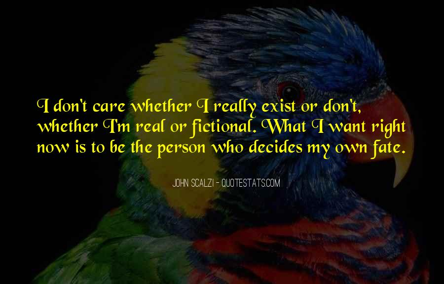 Don't Really Care Quotes #287448