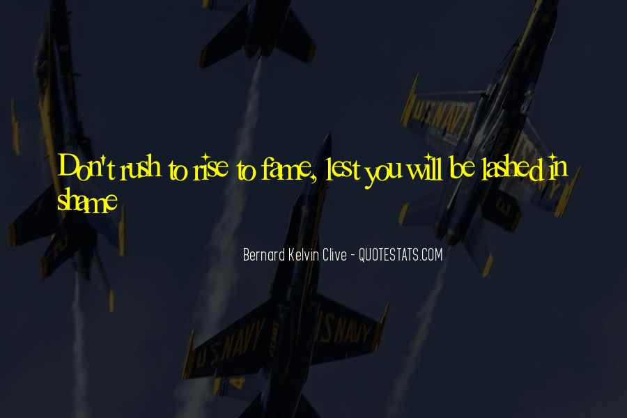 Don't Rush Things Quotes #109985