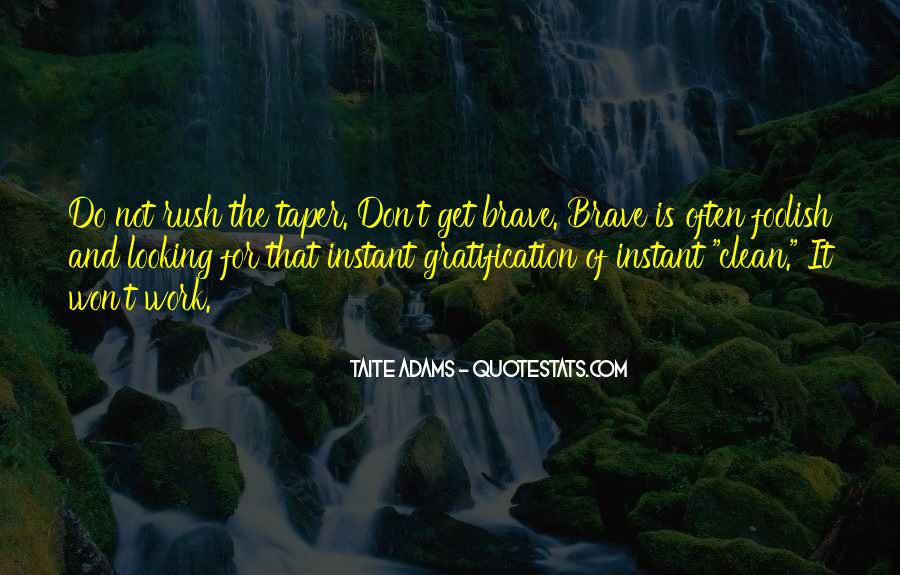 Don't Rush Things Quotes #499999