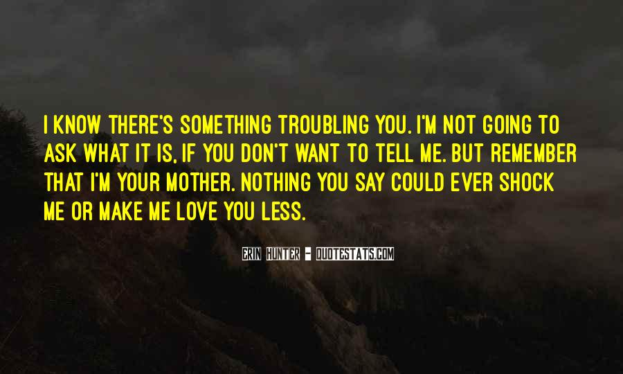 Don't Say You Love Me If Quotes #1159306