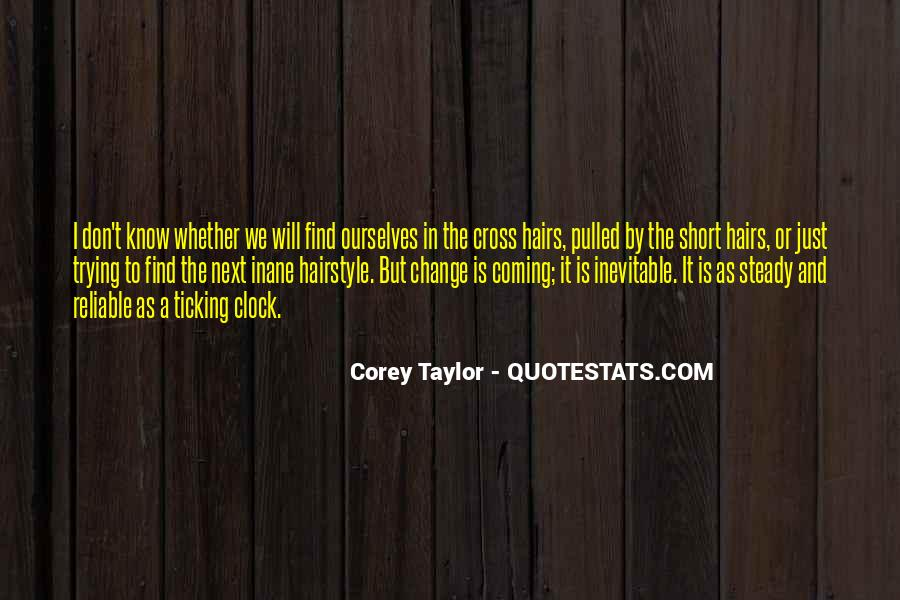 Don't Short Change Yourself Quotes #319695