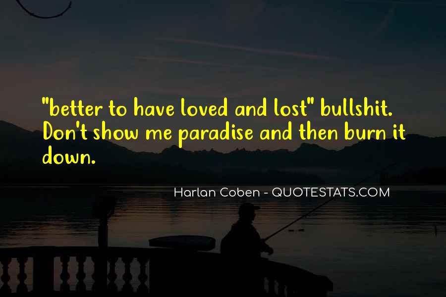 Don't Show Love Quotes #1089130