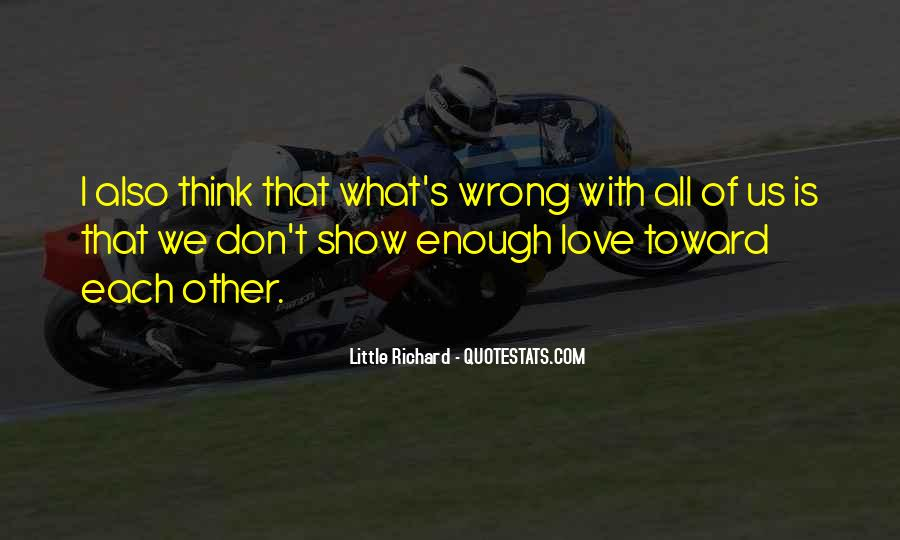 Don't Show Love Quotes #112626