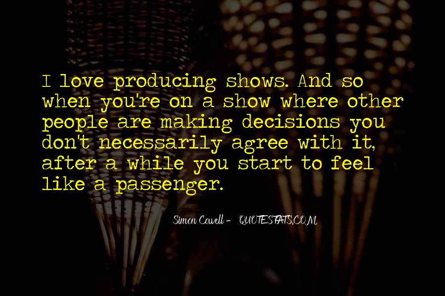 Don't Show Love Quotes #837936