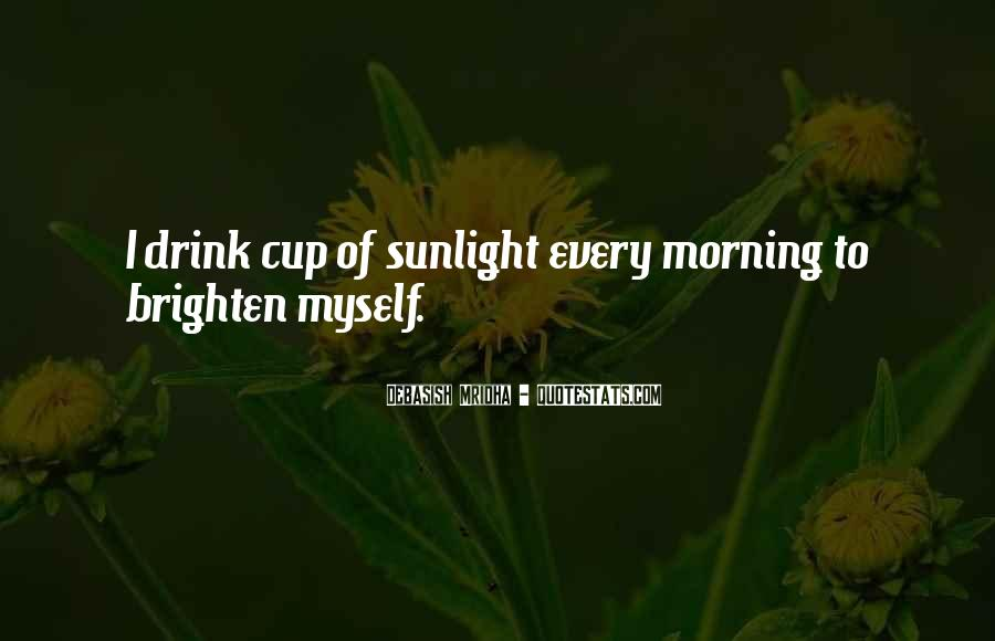 Quotes About Inspirational Sunlight #1047007