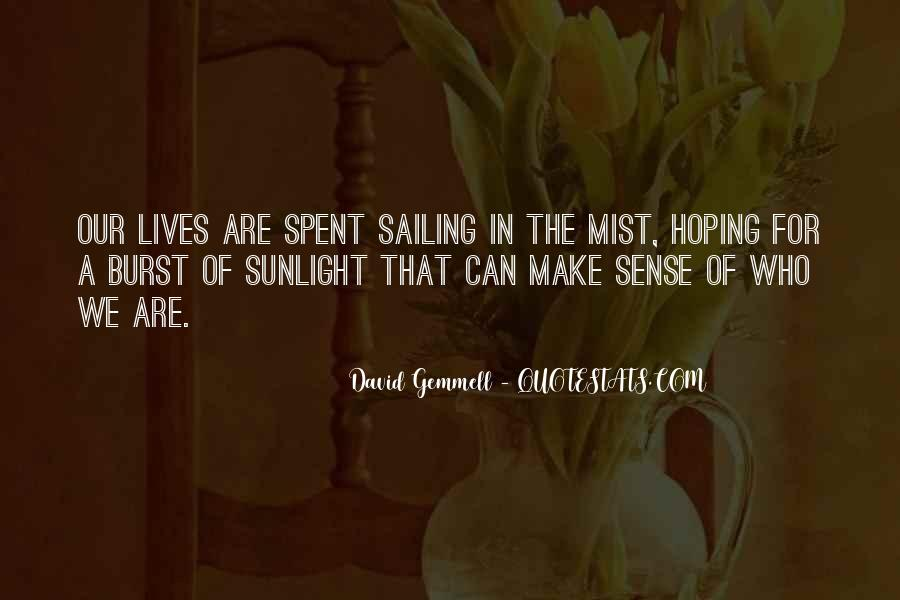 Quotes About Inspirational Sunlight #176577