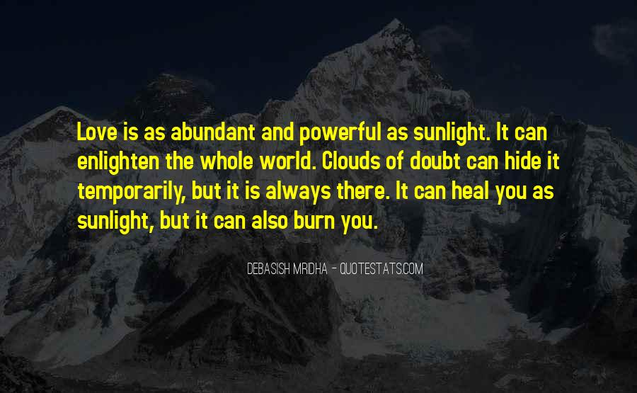 Quotes About Inspirational Sunlight #215506