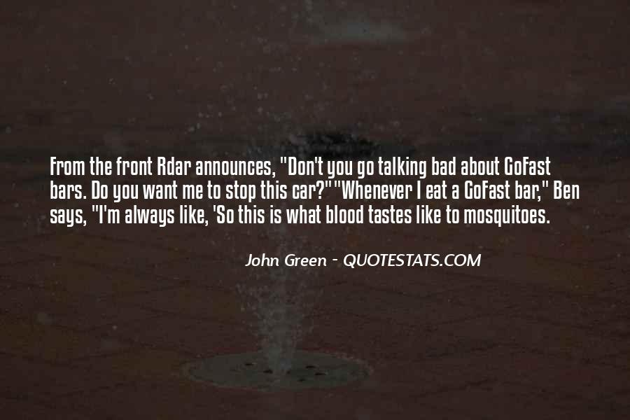 Don't Stop Talking Quotes #1576655