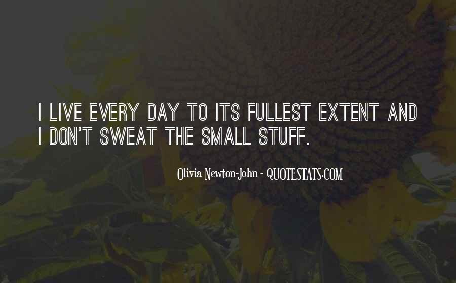 Don't Sweat The Small Things Quotes #671497