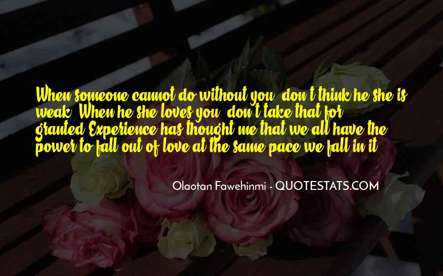Don't Take Me Granted Quotes #793866