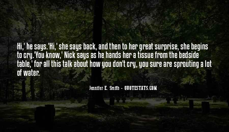 Don't Talk Back Quotes #145168