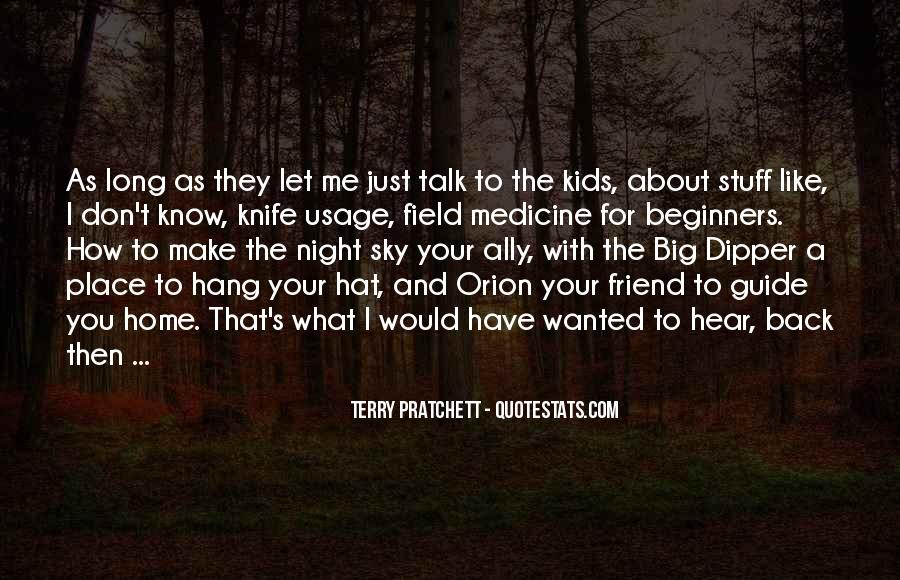 Don't Talk Back Quotes #687452