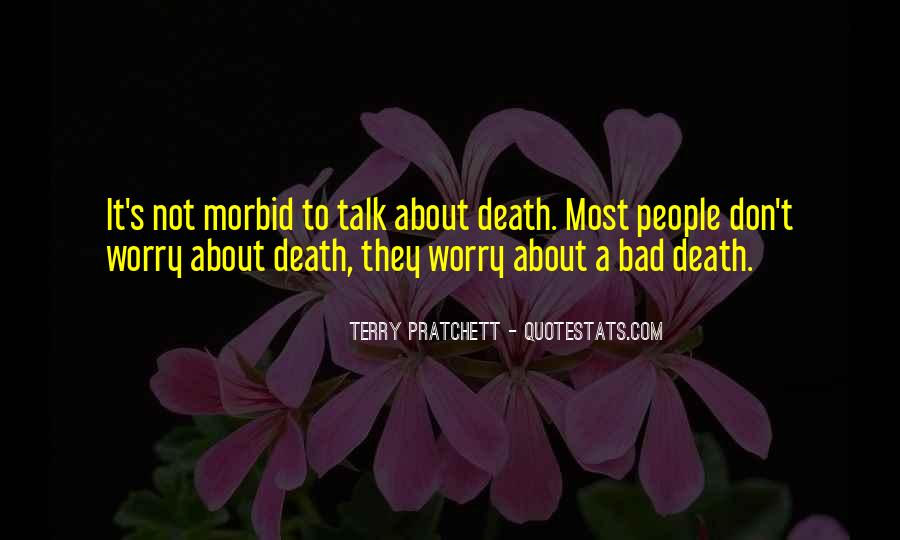 Don't Talk Bad Quotes #813176