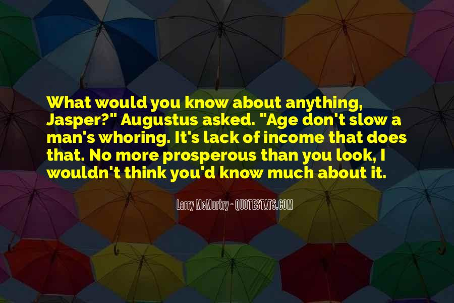 Don't Think About It Quotes #57420
