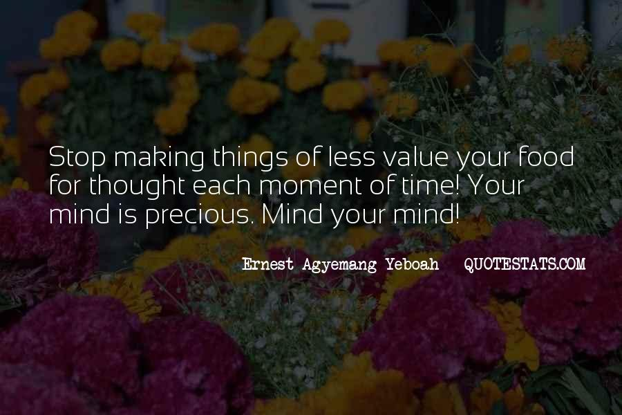 Don't Think About Yourself Quotes #162550