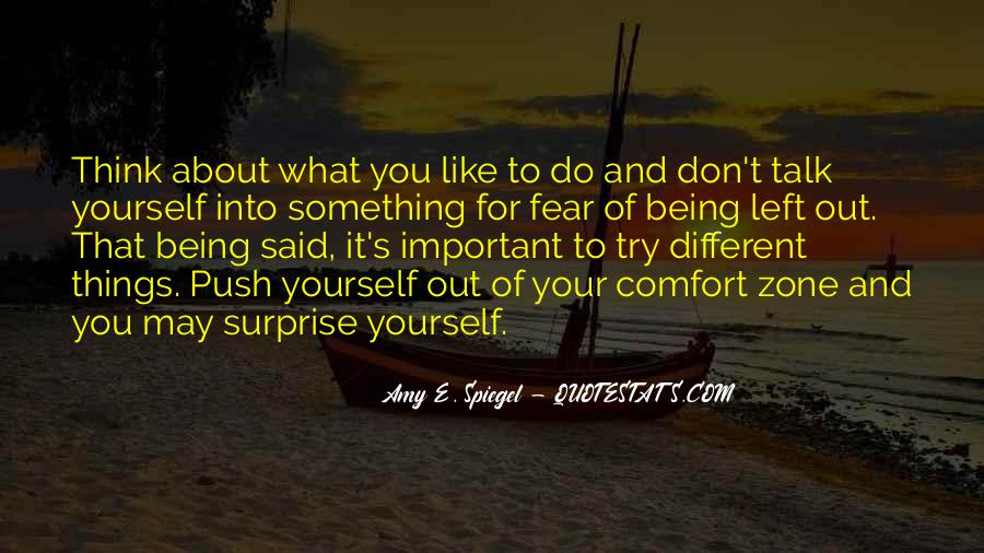 Don't Think About Yourself Quotes #172749