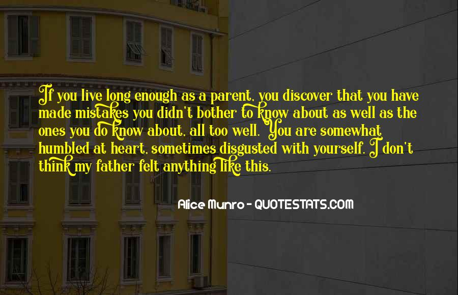 Don't Think About Yourself Quotes #347855