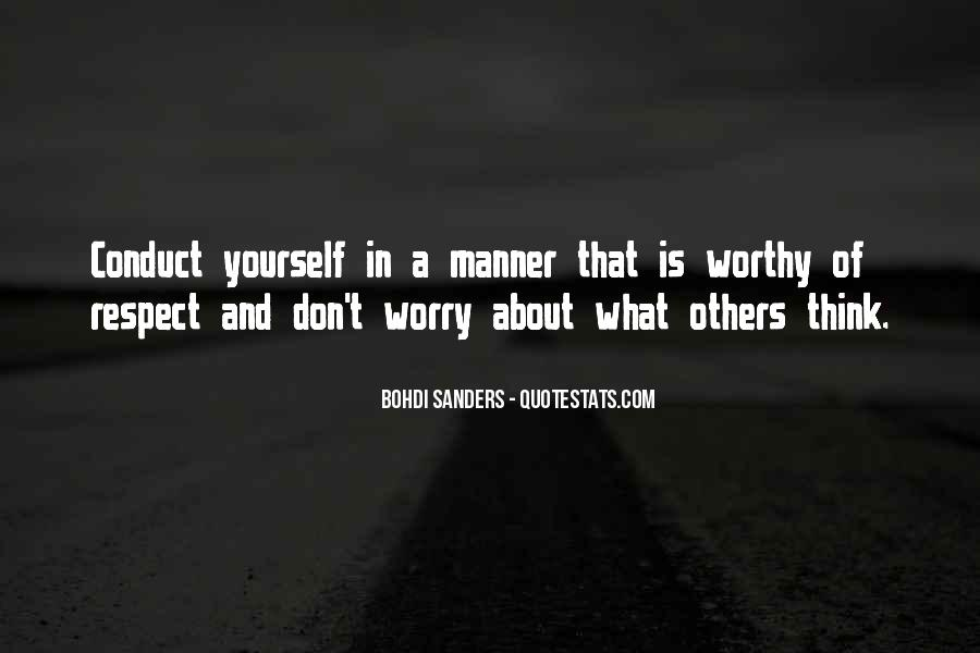 Don't Think About Yourself Quotes #706408