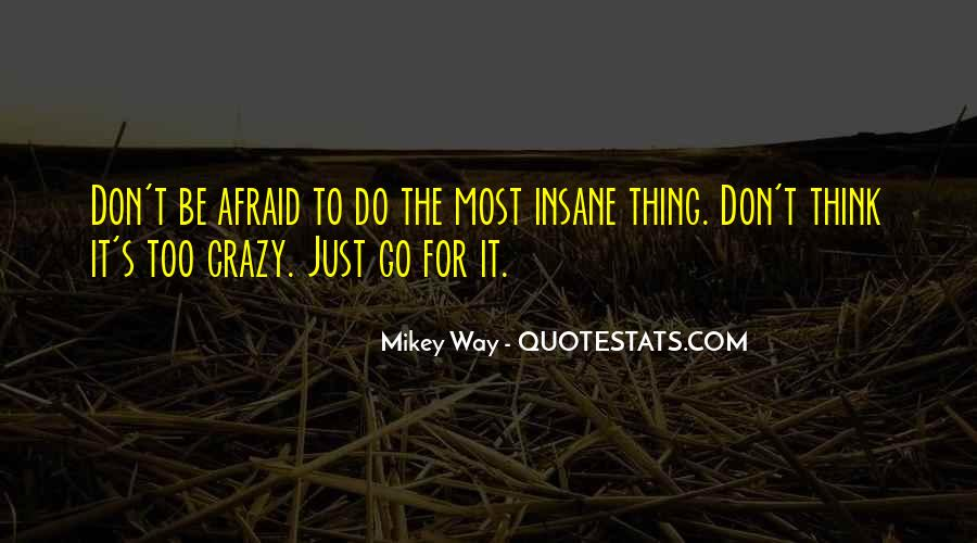 Don't Think Just Do Quotes #121750