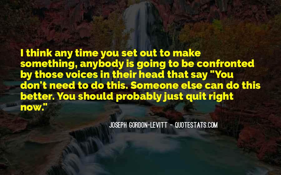 Don't Think Just Do Quotes #151358