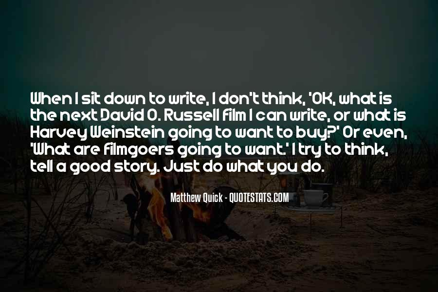 Don't Think Just Do Quotes #253217