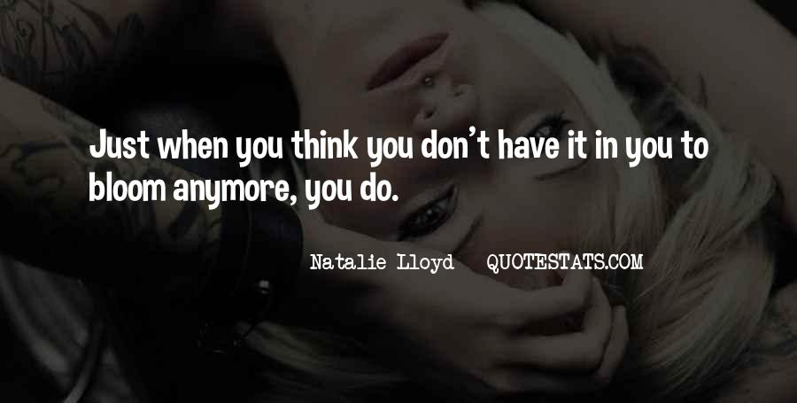 Don't Think Just Do Quotes #260989