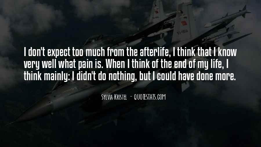 Don't Think Too Much Quotes #18127