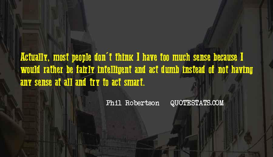 Don't Think Too Much Quotes #194190